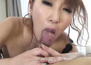 Japanese babe all over electric cable special rides beyond everything a dildo