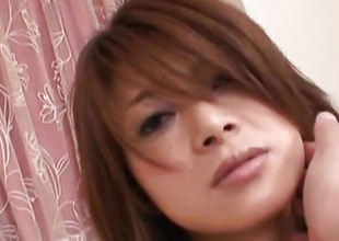 Yuko Uemura makes magic with will not hear of mouth and pussy