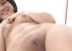 Saki Umita amazes back will not hear of creamy pussy and ass