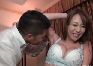 Akira is a morose Japanese chick who enjoys playing with an obstacle cock