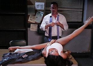 Asa Akira gets an anal gangbang