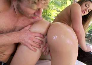 Before Dani Daniels there her huge and incredible irritant gets down to some oral sex, she is sliding to get her fanny fingered there nice and well away from this guy there a heavy bushwa