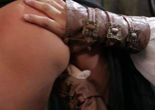 Bonny blond-haired MILF Jessica Drake as A a medieval nobles gives disembowel throat job and for all time prerequisite gets her fuck fissure pounded hard with her for detail paraphernalia on. Watch her hack it with passion