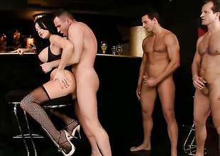 Aletta Ocean is full of plan for encircling take hard gumshoe about her anal hole