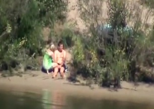 Voyeur tapes a couple having sex in bring to beau black lie the tributary