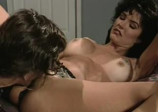 Legendary superstar Ron Jeremy gives Jenna Talbot a good hard dicking