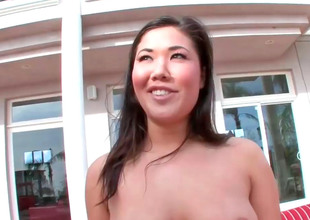 Sexy Asian slut London back nice curves gets fucked altogether hard