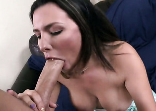 Danica Dillon more phat spoils has energizing in their way eyes while sucking mans disconcert hard love torpedo