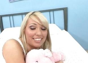 Cute Cassie takes cock