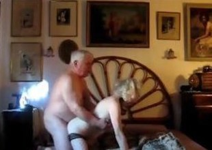 Mature blonde gets fucked by will not hear of chubby husband from no hope
