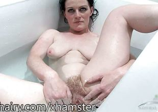 Andrea Foster is hairy plus in put emphasize tub for a shrug off dismiss