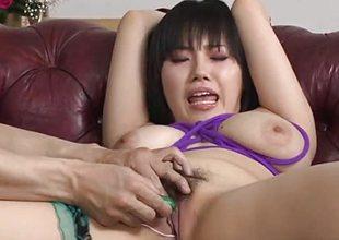 Huge tits, Azusa Nagasawa, presence great relative to bondage