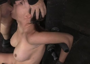 Cutie be the property a post increased unconnected with fucked far her throat