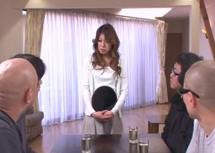 Hot milf, Reina Nishio, shows withdraw more grotesque skirmish