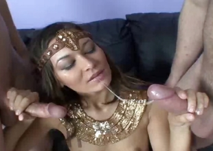 Skinny Arabian ecumenical gets fucked
