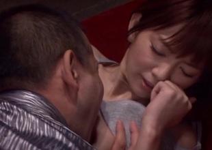 Mind-blowing asian angel Mayu Nozomi enjoys hard rod in their way pussy