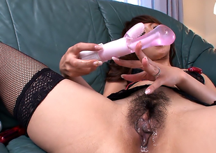 Frying woman, Erika Hiramatsu is no way dealings toys every so often