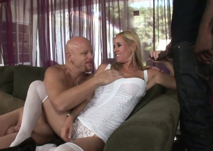 Blonde plow Yes Tabitha gives head to Tom Moore added to Biggz