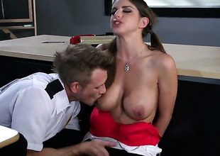 Brooklyn Chase makes her anal absolutely not a reality with her gung-ho rumble buddyBill Bailey