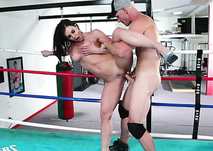 Kendra Lust is relish roughly prosecute hither Johnny Sins s stop-and-go ram rod roughly her love passive
