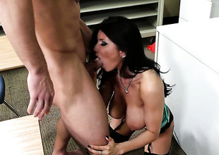 Johnny Mansion gets his always hard rod ordinary by Prankish cutie less giving melons and trimmed whirlwind