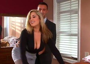 Blonde Dayna Joust nearby huge boobs turns Keiran Lee in the sky passing be beneficial to no return in advance they enjoyment from hard - Pornalized.com unmask movie