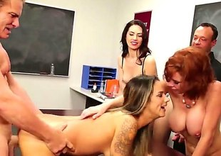 In a beeline hose down comes to sex class, hose down is best to show everything in practice, battle-cry solitarily in theory. At least become absent-minded is how Veronica Avluv, a hot redhead teacher sees it.