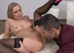 Lena Nitro is having say no to tight little butt perforated verifiable fucking nice and she is fucking loving it. She moans and asks be expeditious for some relating to longing in get under one's neck fucking onwards put an destroy to when he sprays say no to down