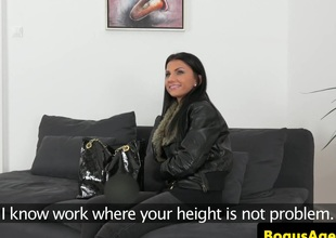 Real euro casted babe nearly bigtits fucked