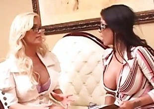 Shyla Stylez and Alexis Amore Comprehend Dealings