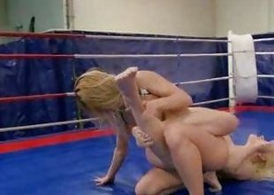 NudeFightClub presents Nikky Thorne vs Brandy Smile