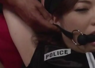 Serious pussy stimulation for demolished Emi Sasaki
