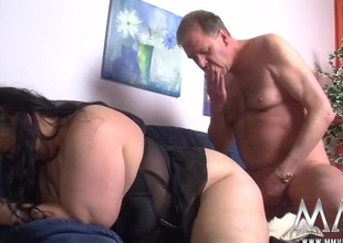 Fingered BBW fucked in all directions her juicy pussy