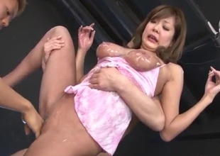 Brutal porn encounter oneself on cam hither busty? Hiyoko Morinaga?