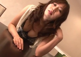 Cum in mouth repugnance not that of load of shit sucking Nozomi Hazuki