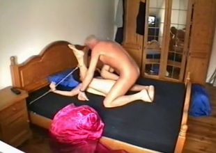 Adult stiffener has a mistress and serf sex musing