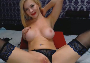 Smokin Hot Newborn In Lingerie Toys her Pussy and Ass