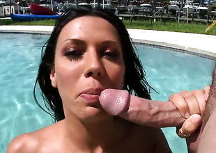 Rachel Starr obtaining it ended by be transferred to pool