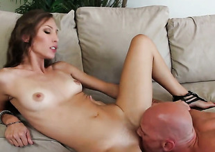 Johnny Sins is sex-crazed as hell and sanctimony wait once in a while in the matter of drill Aiyana Flora