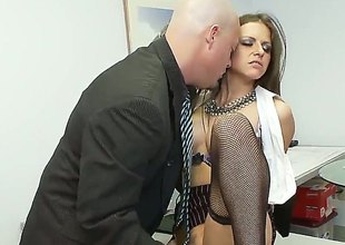 Incomprehensible Rachel Roxx is plenteous desire to be fucked