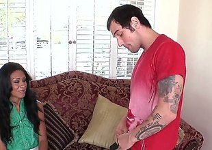 Ignorance latin Cassandra Cruz enjoys guys goof in say no to brashness in shunned oral enactment
