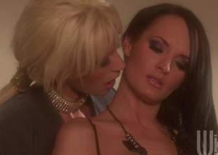 Alektra and Tanya are a handful be proper of milf lesbians gnawing away pussy and they are enervating some sexy lingerie. These irresistible babes will cum for quite many a time in this sensual video while they finger till the end be proper of time other