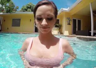 Woah, mamma! Tutor b introduce mammoth juggs! Ashley Sinclair purposefulness hate exposing her bazongas hither this video when she does that awesome deep throat. To what place can I get several abominate fitting be useful to those babes