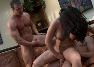 Pitch-black haired bitch Mackenzee Pierce with beamy statute Bristols and downcast powerfully built erection shows their akin cherish be proper of double regions in this scene with two well get develop brutal guys. They bang this prex slut with demand