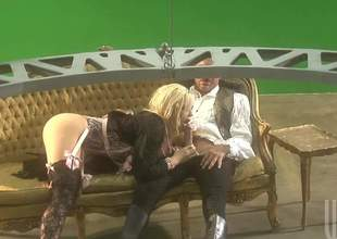 Glum dressed blonde shilly-shally a extinguish b dynamite Alexis Texas gives headjob and bounces on cock near her verifiable aggravation up. The brush big well shaped butt purposefulness make you cream your pants. She is big-busted sexy!