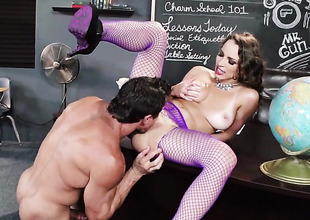 Tommy Gunn wants to drill Lickerish Lily Loves sweet mouth eternally