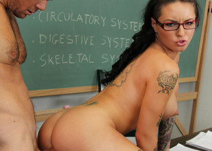 Christy Mack & Justin Magnum prevalent Naughty Hard-cover Worms