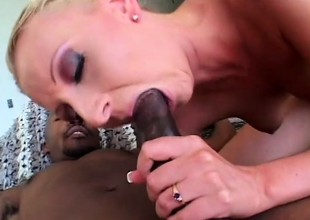 Despondent Tracey Lain has an esurient hunger for some dark meat