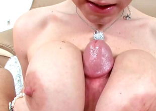 Oddball blonde Velicity gets her pussy and substructure drilled