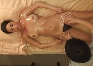 AMWF Latina Bijou interracial with Asian tramp